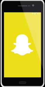 Snapchat е мобилно приложение, което ни позволява да изпращаме видеа и снимки, които се самоунищожават няколко секунди след като бъдат прегледани.